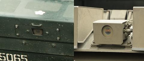 操縦手用カメラ