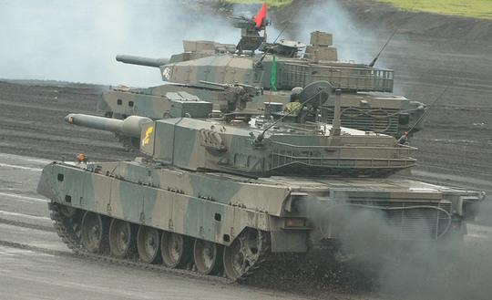 戦車教導隊の90式戦車