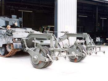 92式地雷原処理ローラー