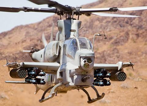 最新鋭攻撃ヘリコプターAH-1Z