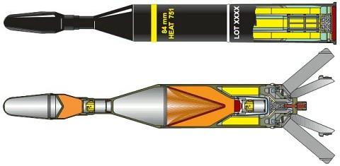 HEAT751弾頭