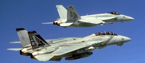F-14&F/A-18