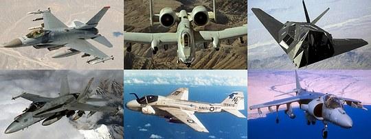 これらの機種の後継機となるF-35
