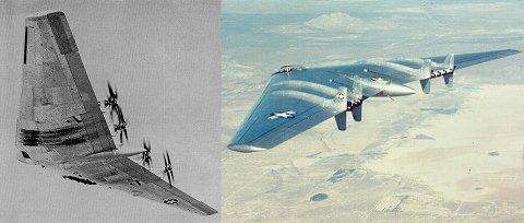 XB-35とXB-49
