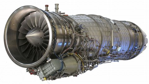 EJ200ターボファンエンジン