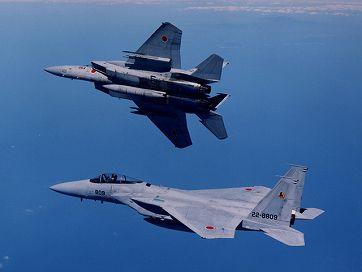 航空自衛隊のF-15J